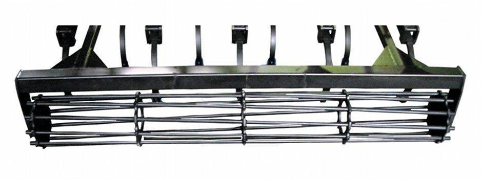 Rodillo helicoidal de barras